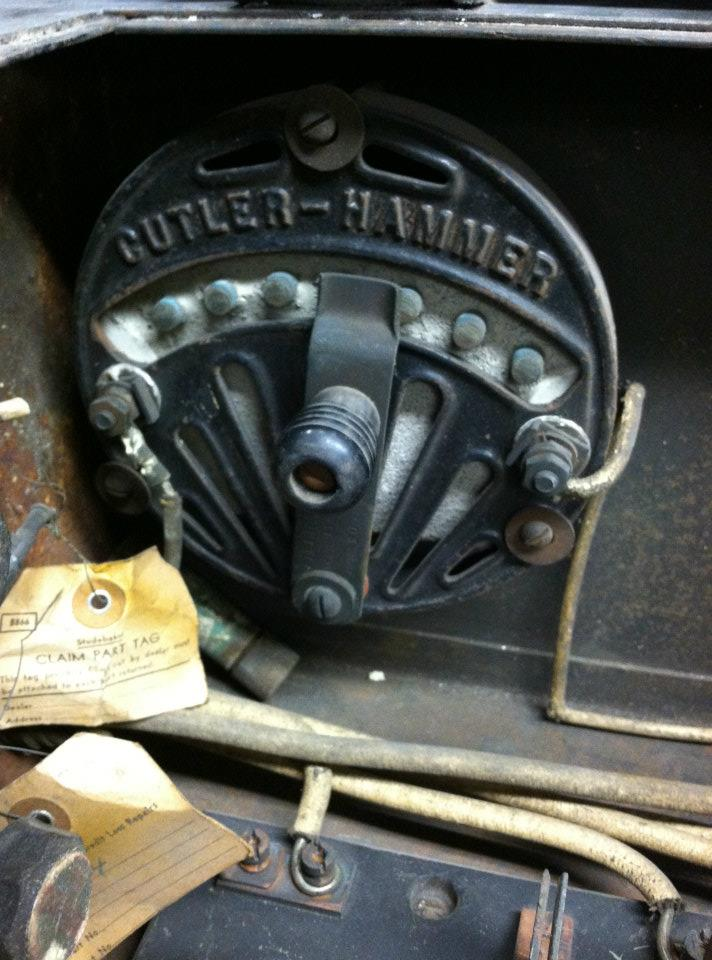 early cuttler hammer electric car charger